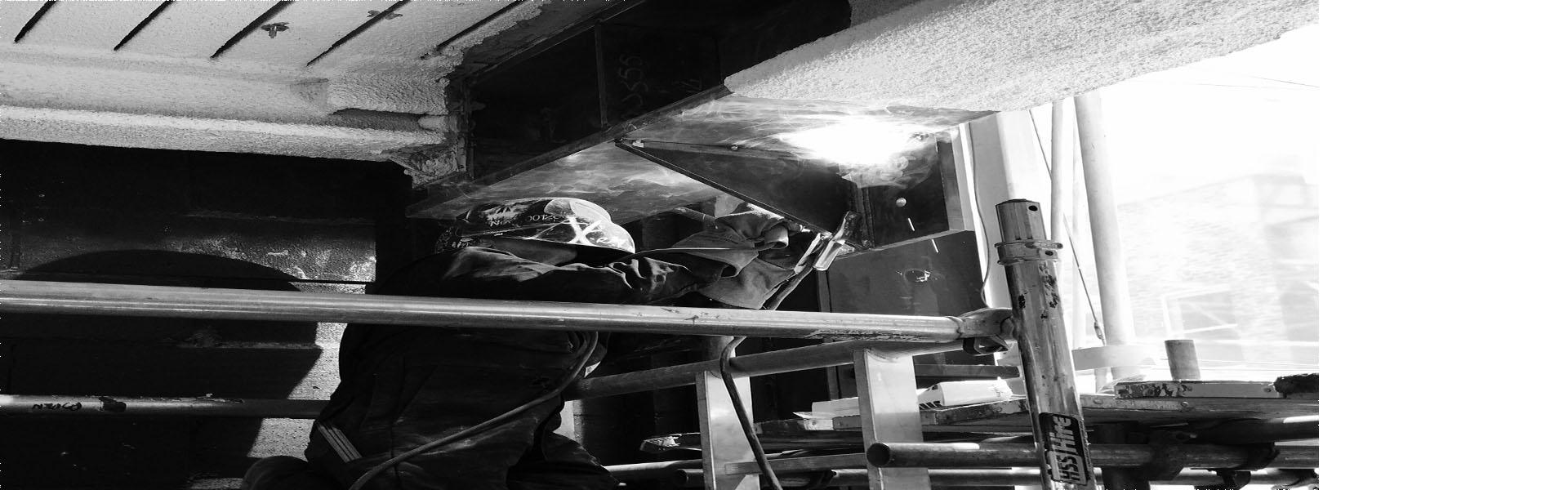 Site welding 1
